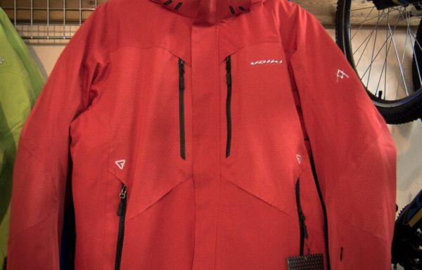 Куртка зимняя горнолыжная Volki красная