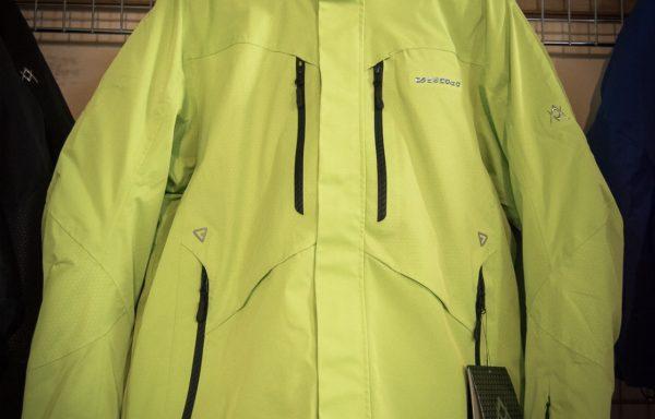 Куртка зимняя горнолыжная Volki салатовая