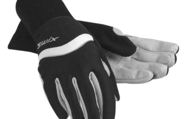 Лыжные перчатки SWIX Classic Mens Glove style H0140 10000 Black RN 66387 CA 15003