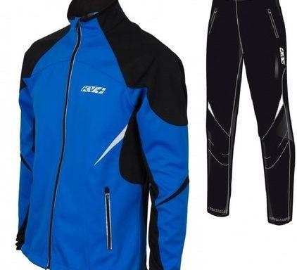 Лыжная куртка KV+ LAHTI голубая