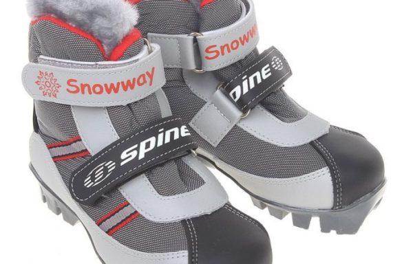 Лыжные ботинки SPINE BABY NNN 29-37 р.