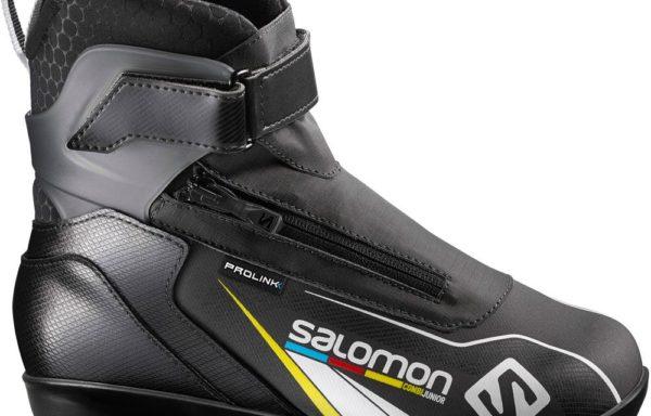 Лыжные ботинки SALOMON combi Junior prolink