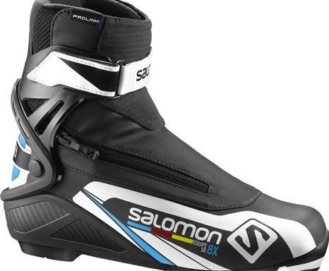 Лыжные ботинки SALOMON equipe 8X skate SNS