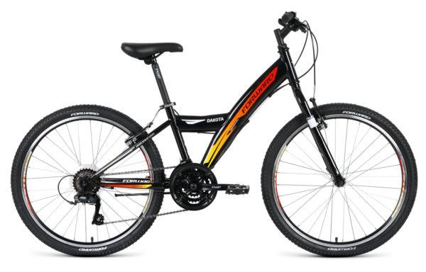 Велосипед горный  FORWARD Dakota 24 1.0 (2019)