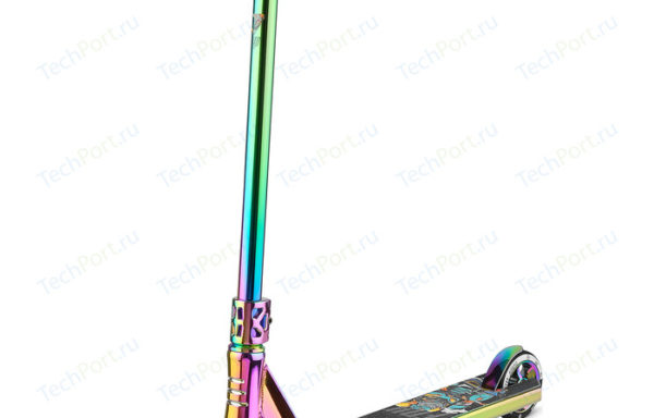 Спортивный самокат FOX PRO V TECH1 Neon