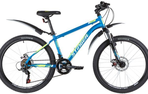 Велосипед горный STINGER Caiman D 24″ (2020)