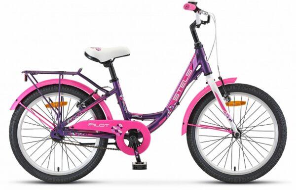 Велосипед детский STELS Pilot-250 Lady 20″ (2021)