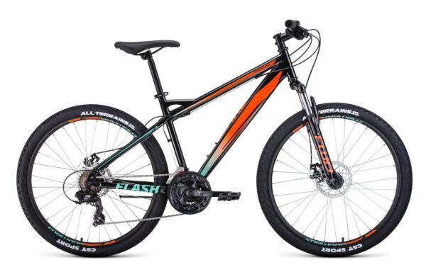 Велосипед горный FORWARD Flash 2.2  26″ (2021)