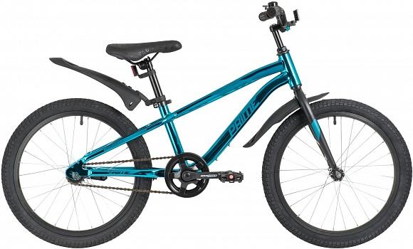 Велосипед горный NOVATRACK Prime 20″ (2021) ножн. торм.