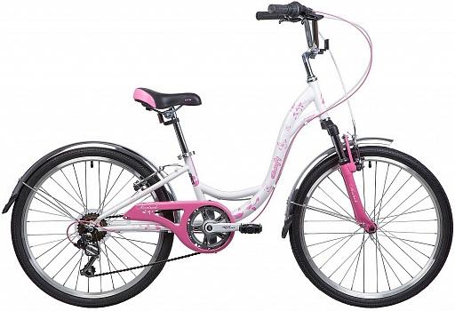 Велосипед детский NOVATRACK Butterfly 24″ (2021)