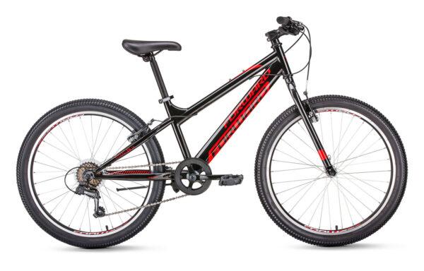 Велосипед горный FORWARD Titan 1.0 disc 24″ (2021)